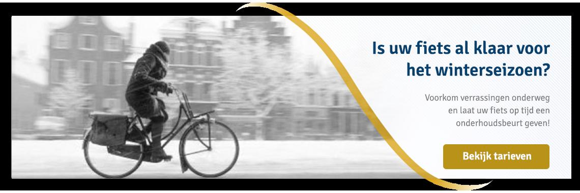 Onderhoud en servicebeurt fiets